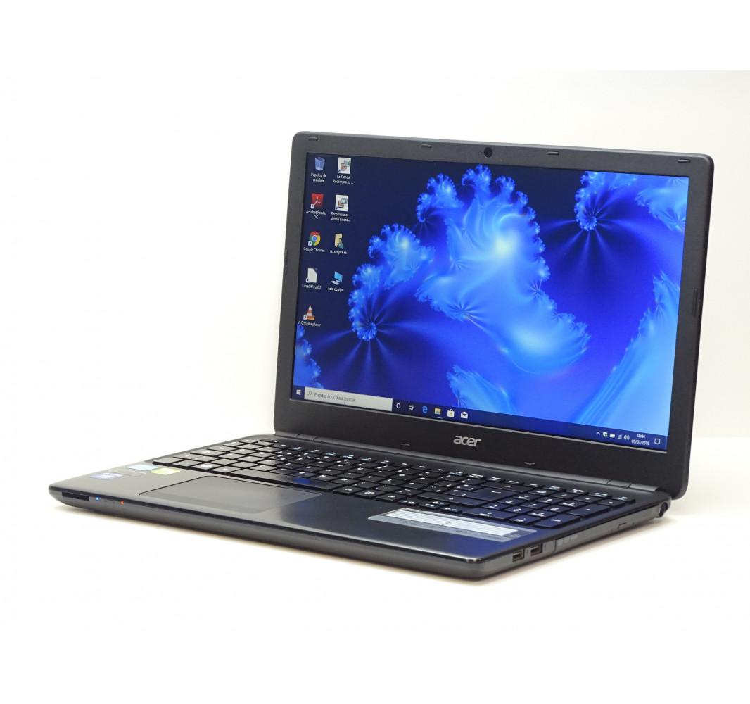 """Intel i3-3217U - 4GB - 240GB SSD - GT 720M - 15,6"""" - Win 10 - Grado A"""