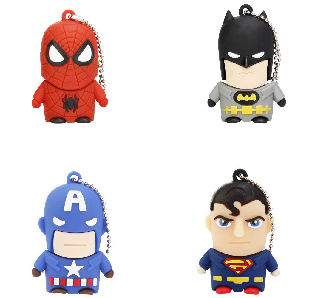 Pendrive 8GB Super Heroes