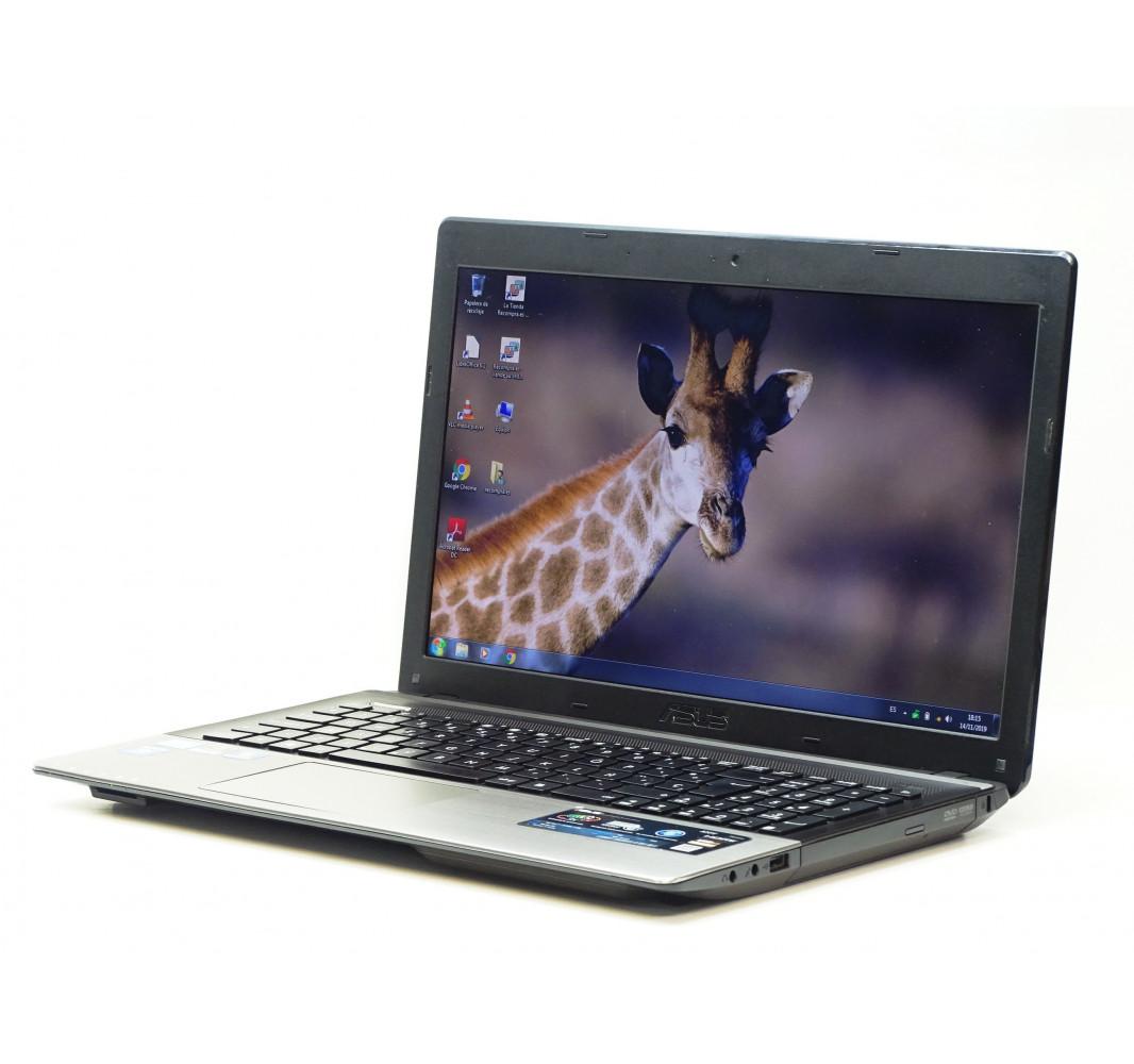 """Intel i7-3610QM - 8GB - 750GB - GT 610M - 15,6"""" - Win 7 - Grado A"""