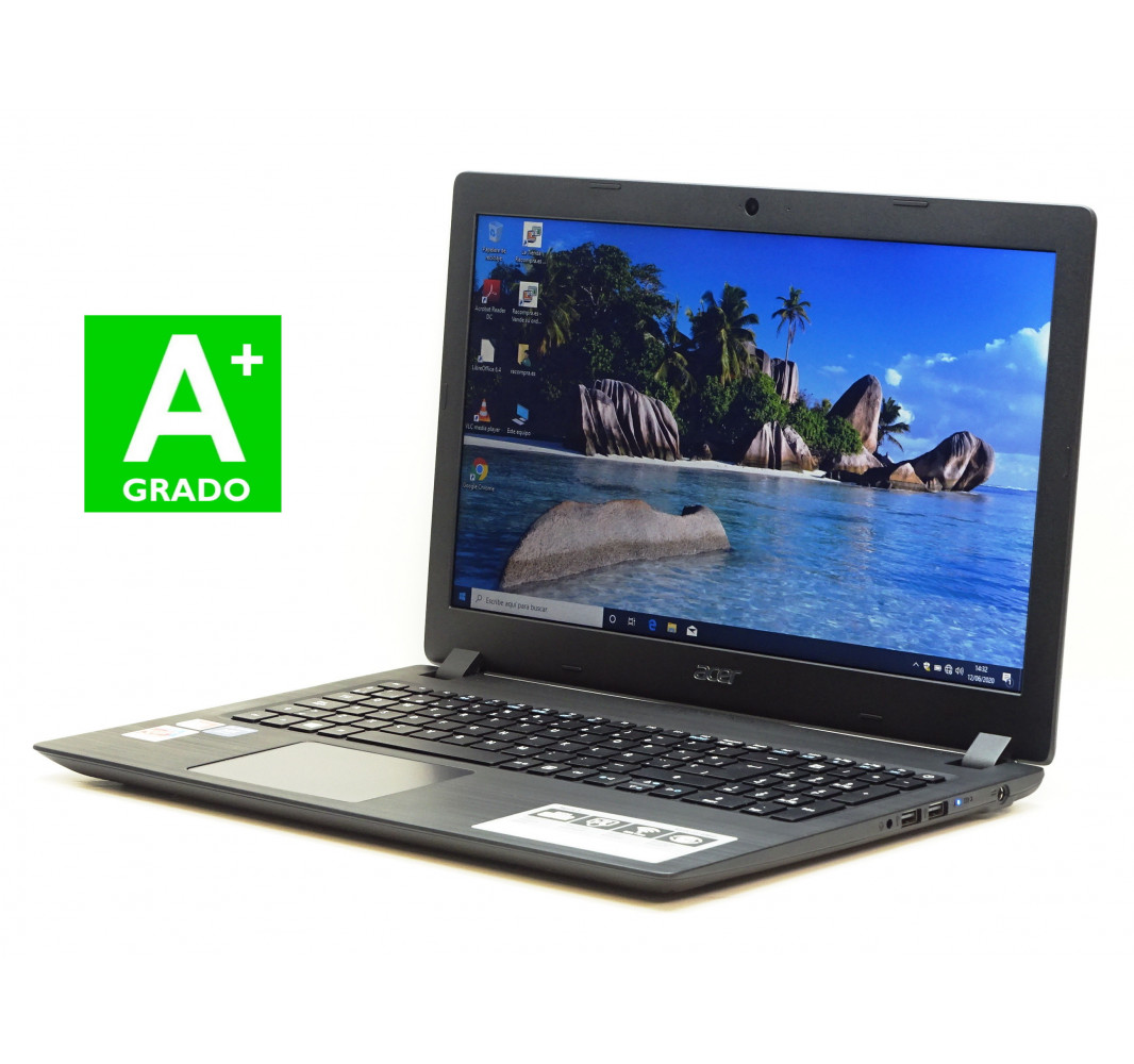 "AMD A6-9220 - 4GB - 500GB + 128GB SSD - 15,6"" - Win 10 - Grado A+"