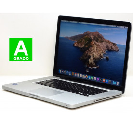 "Intel i7 2,6GHz - 16GB - 750GB - GT 650M - 15,4"" - OS X Catalina - Grado A"