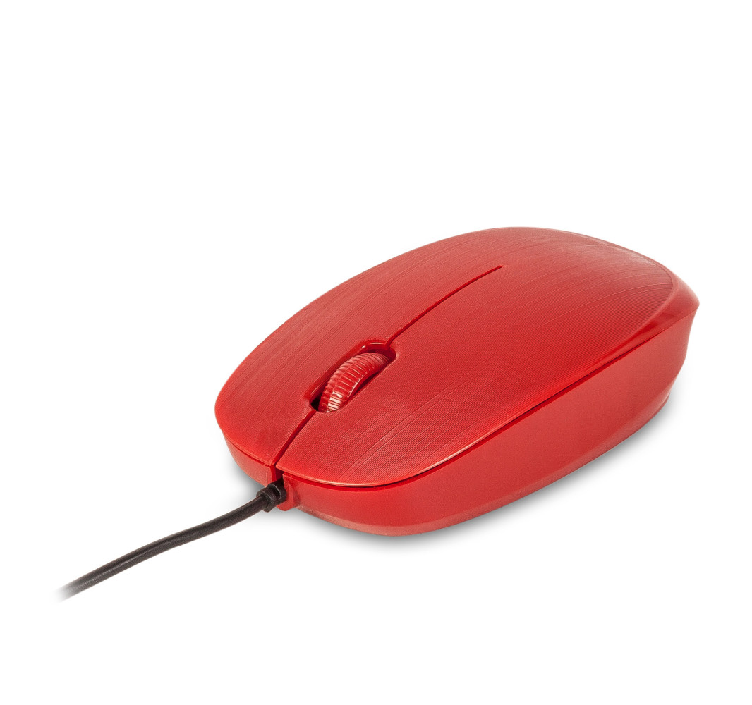 Ratón óptico NGS Flame Red