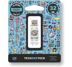 Pendrive TechOneTech Beers & Bytes 32GB