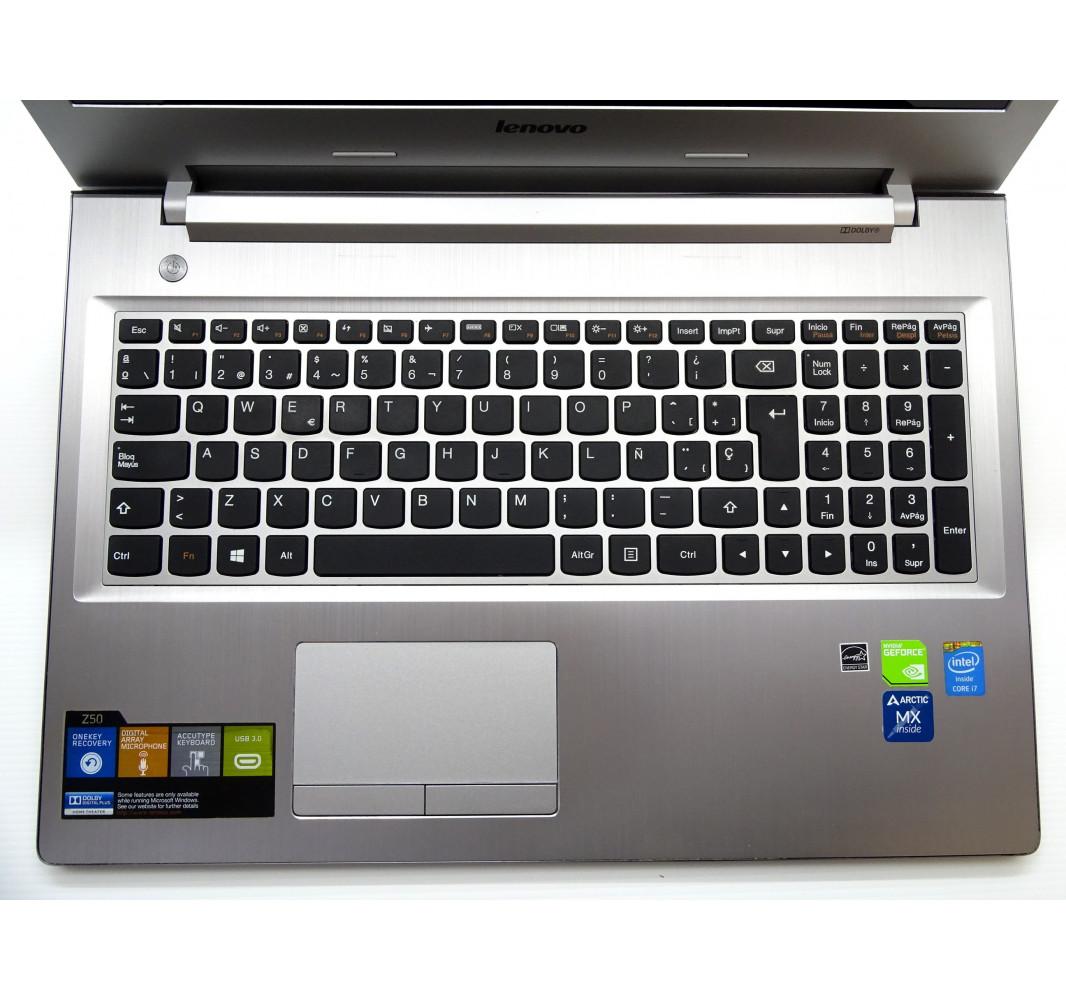 """Intel i7-4500U - GT 840M - 4GB - 500GB - 15,6"""" FHD - Windows 10 - Grado A"""