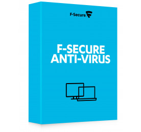 F-Secure Anti-Virus (15 meses)
