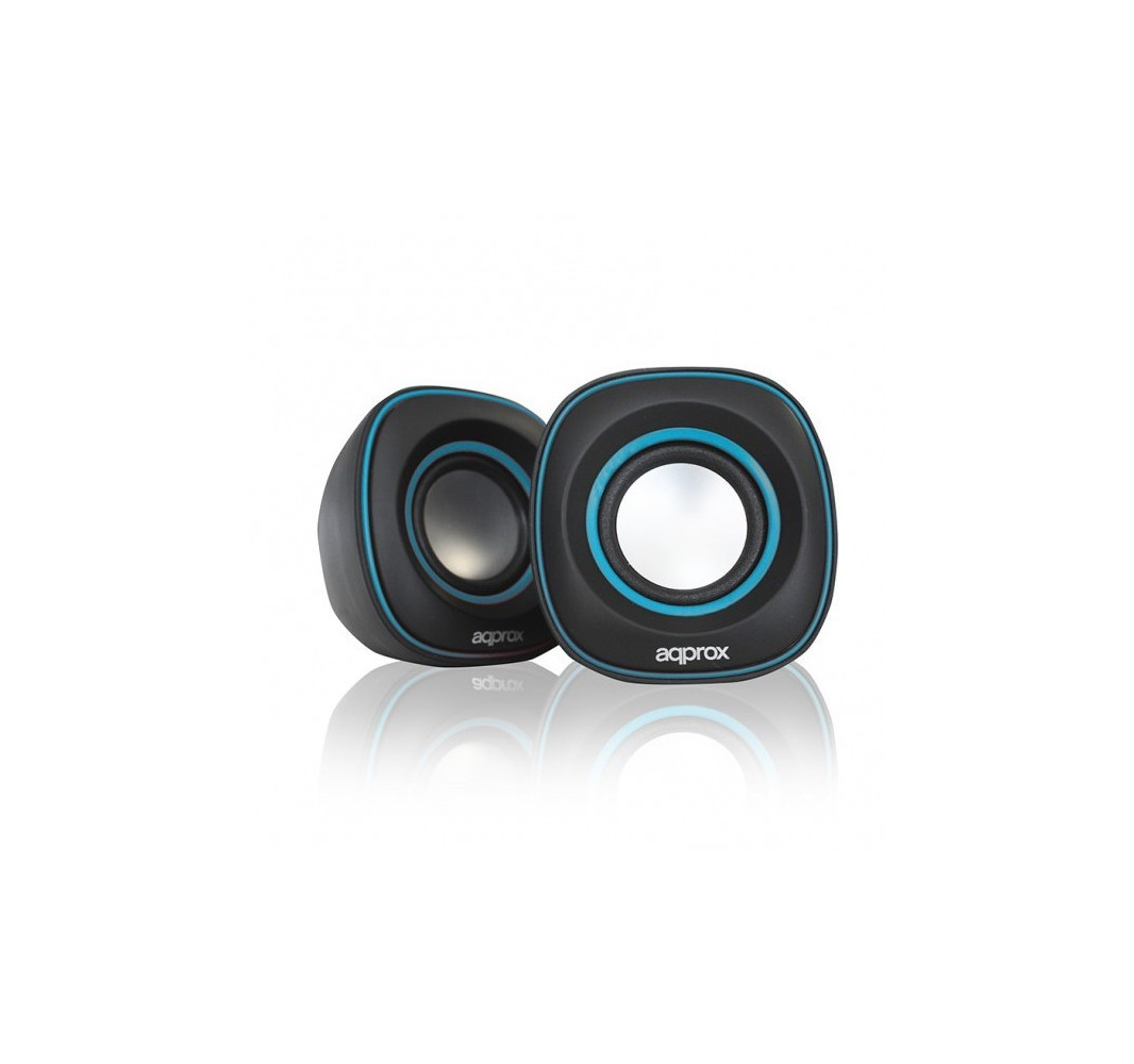 Altavoces Mini 6W USB Approx! Azul