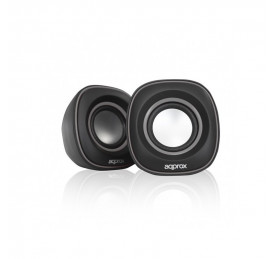 Altavoces Mini 6W USB Approx! Gris