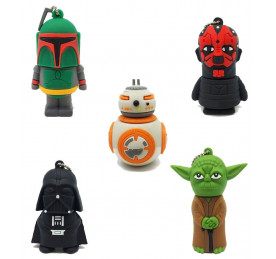 Pendrive 4GB Marvel Heroes o Star Wars