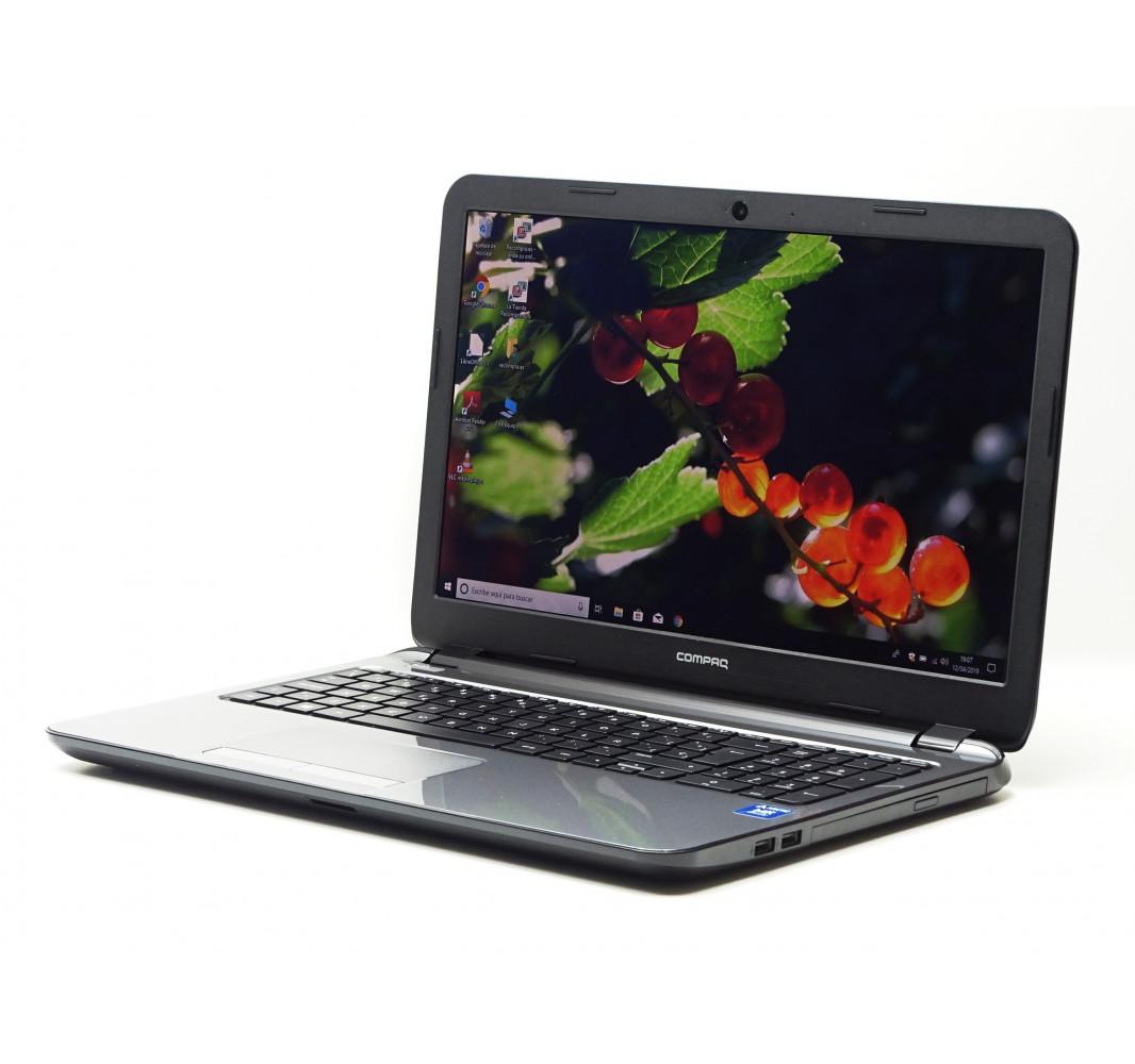 """HP Compaq 15-h000ss con AMD E1-2100 - 4GB - 500GB - 15,6"""" - Win 10 - Grado A"""