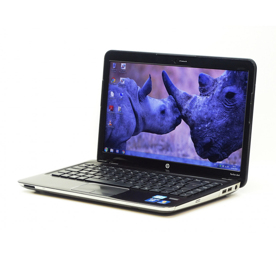 "Intel i5-2410M - 4GB - 500GB - HD 6470M - 14"" - Win 7 - Grado A"