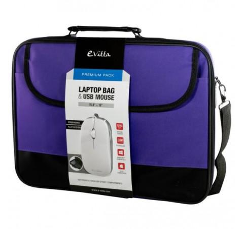 "Maletín e-vitta Premium Pack púrpura 15,4"" - 16"""